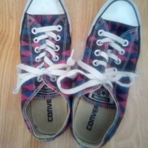 Converse All Star multi colored sneaker shoes